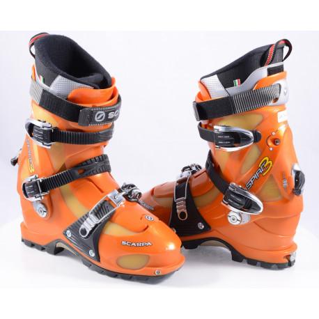 skialpinistické lyžiarky SCARPA SPIRIT 3, SKI/WALK, forward lean, canting, easy lock, heel retention system ( TOP stav )