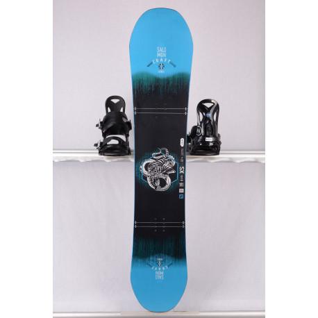 deska snowboardowa SALOMON CRAFT UNITE 2019, black/blue, freestyle, woodcore, sidecut, FLAT/camber