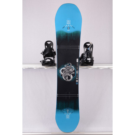 tabla snowboard SALOMON CRAFT UNITE 2019, black/blue, freestyle, woodcore, sidecut, FLAT/camber
