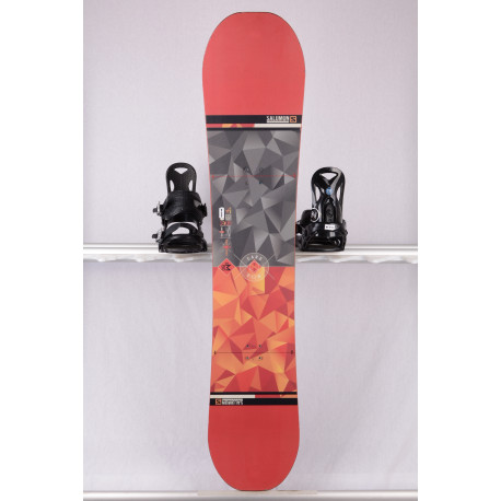 snowboard SALOMON WILD CARD 2019, orange/red, ALL terrain, woodcore, ROCKER