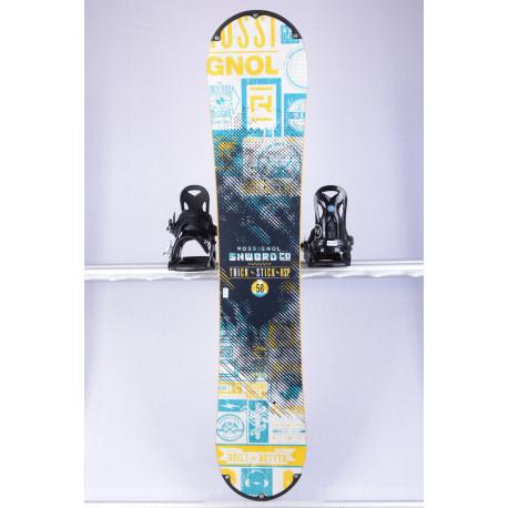 snowboard ROSSIGNOL TRICK STICK RSP, WHITE/yellow, WOODCORE, sidewall, ROCKER