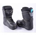 snowboardové topánky SALOMON FACTION BOA, BOA technology, BLACK/blue ( TOP stav )