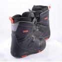 snowboardové topánky SALOMON FACTION BOA, BOA technology, BLACK/red ( TOP stav )