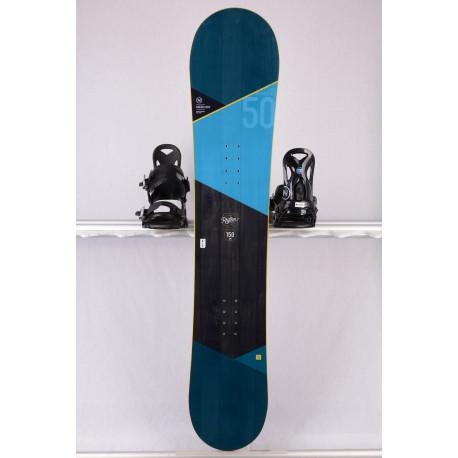placa snowboard NIDECKER RHYTHM 2019, LIGHT core, SWISS design, CAMBER ( stare TOP )