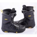 snowboardové topánky SALOMON FACTION BOA, BOA technology, BLACK/yellow