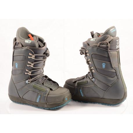 chaussures snowboard BURTON WOMENS PROGRESSION GREY/blue, TRUFIT, IMPRINT 1 ( comme NEUVES )