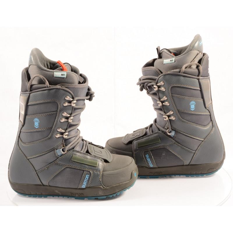 snowboardové topánky BURTON WOMENS PROGRESSION GREY/blue, TRUFIT, IMPRINT 1 ( ako NOVÉ )