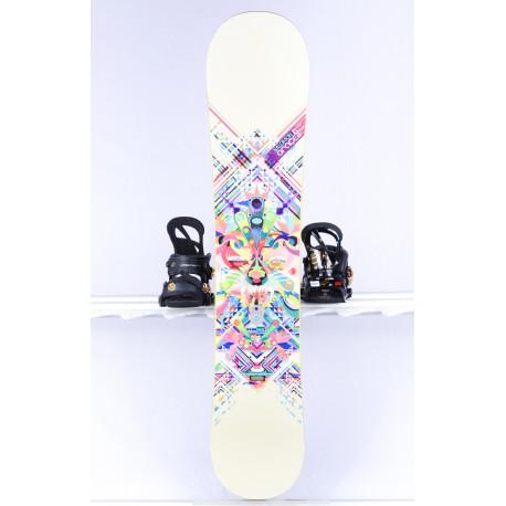 snowboard SALOMON GRACE, WOODCORE, Twintip, FLAT/ROCKER