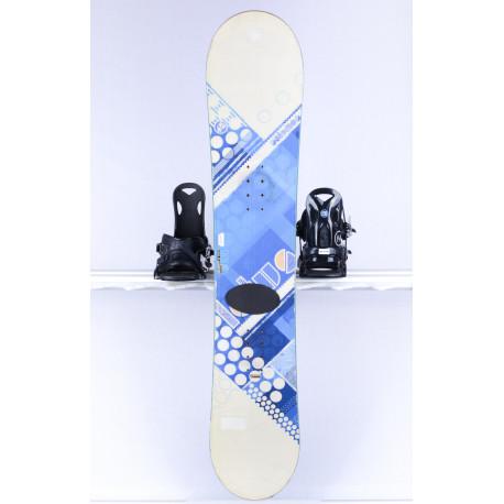 dámsky snowboard SALOMON LOTUS, Woodcore, white/blue, FLAT/rocker