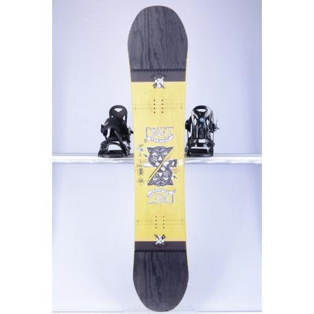 snowboard SALOMON CRAFT, YELLOW/black, WOODCORE, CAMBER