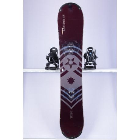 snowboard NIDUS SERGEANT, Freeride, Woodcore, sidewall, CAMBER
