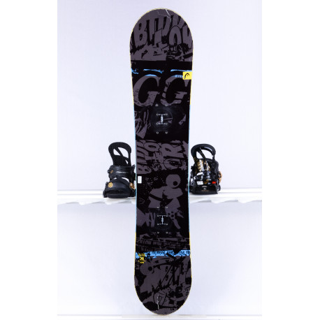 children's/junior snowboard HEAD EVIL YOUTH , Woodcore, FLAT/ROCKER, ( TOP condition )