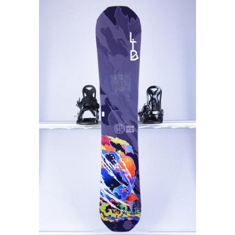 snowboard LIB TECH T.RICE PRO W, BNA tech, Magne traction, Mervin made USA W, HYBRID/ROCKER ( TOP staat )