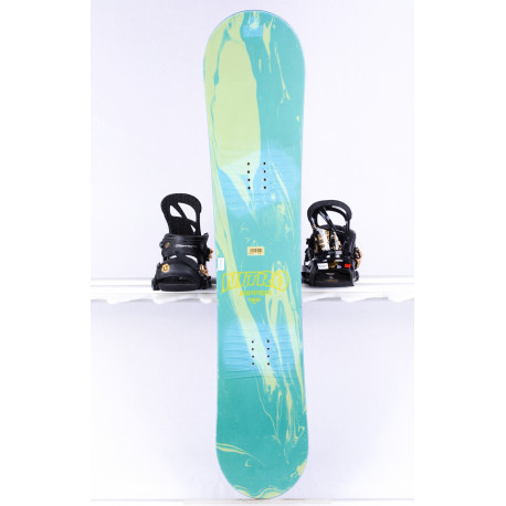 detský/juniorský snowboard NITRO RIPPER JR, green/blue, ROCKER