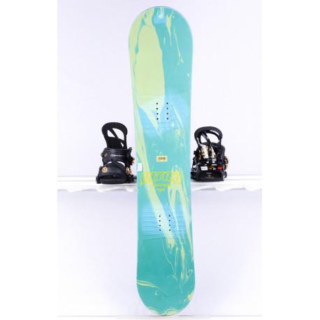 kinder snowboard NITRO RIPPER JR, green/blue, ROCKER