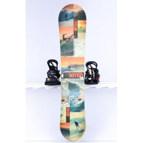 children's/junior snowboard NITRO RIPPER YOUTH orange, FLAT/ROCKER