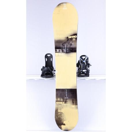 snowboard NITRO ADDICT STEVEN STONE, WOODCORE, sidewall, FLAT/CAMBER
