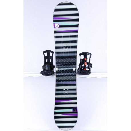 snowboard BURTON PROGRESSION LTR L, GREY/black, WOODCORE, FLAT/ROCKER
