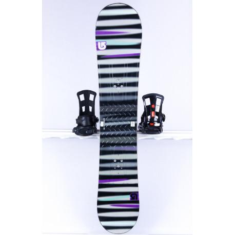 tabla snowboard BURTON PROGRESSION LTR L, GREY/black, WOODCORE, FLAT/ROCKER