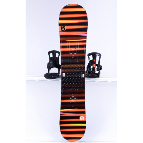 placa snowboard BURTON PROGRESSION LTR L, BLACK/orange, Woodcore, FLAT/ROCKER