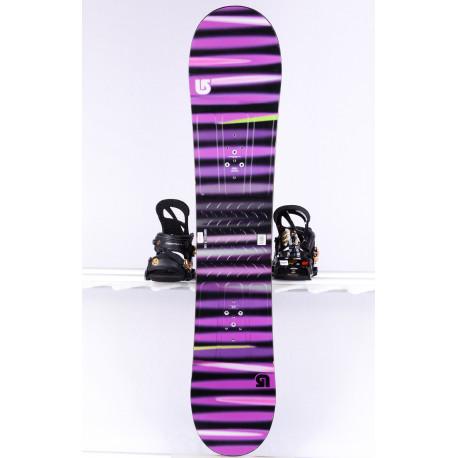 snowboard BURTON PROGRESSION LTR L, VIOLET/black, WOODCORE, FLAT/ROCKER