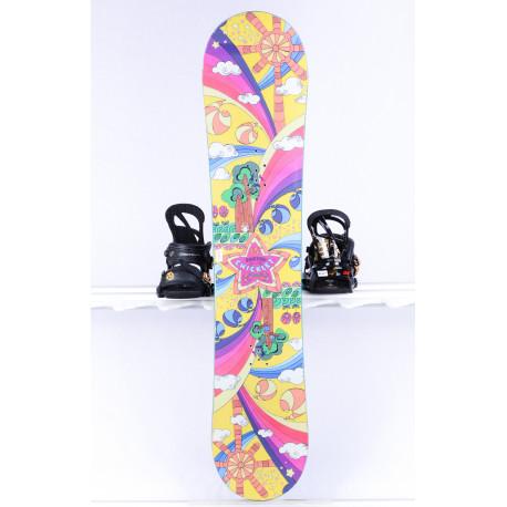children's/junior snowboard BURTON CHICKLET GIRLS, Woodcore, CAMBER