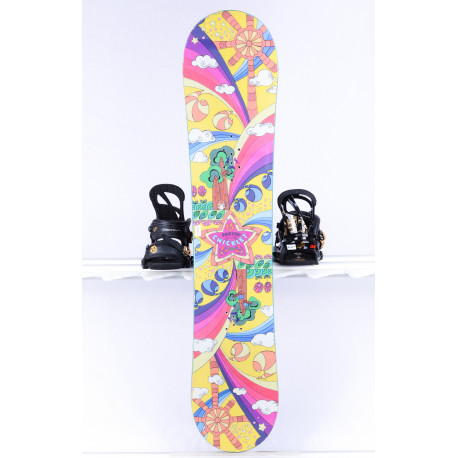 detský/juniorský snowboard BURTON CHICKLET GIRLS, Woodcore, CAMBER