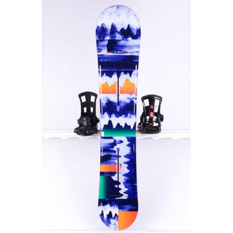 dámsky snowboard BURTON FEATHER, flat top, CHANNEL system, WOODCORE, FLAT/ROCKER ( TOP stav )