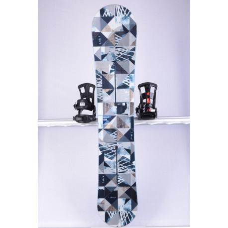snowboard BURTON CLASH WIDE, CHANNEL system, WOODCORE, sidewall, FLAT/ROCKER