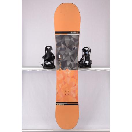 tabla snowboard SALOMON WILD CARD, orange, ALL terrain, woodcore, ROCKER/flat