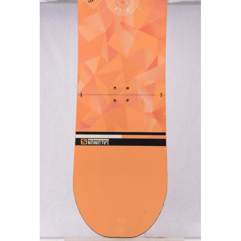 snowboard SALOMON WILD CARD, orange, ALL terrain, woodcore, ROCKER/flat
