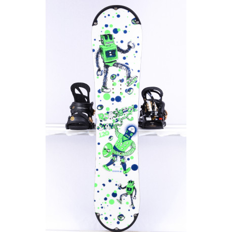 children's/junior snowboard ROSSIGNOL SCAN RSP, WHITE/green, ROCKER ( like NEW )