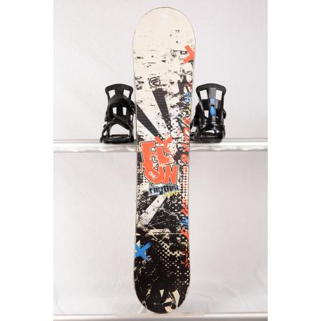 snowboard FLOW RHYTHM, Black/white/red, WOODCORE, sidewall, HYBRID/rocker