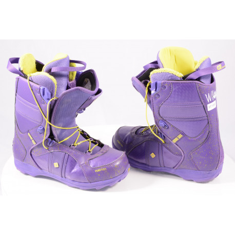 snowboard boots ROME SDS BASTILLE PUREFLEX VIOLET ( TOP condition )