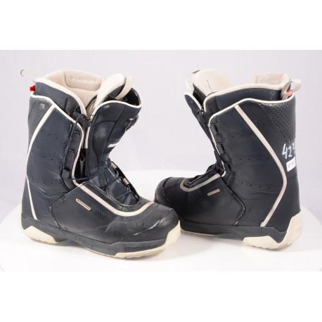 snowboardové topánky SALOMON F20 FUSION Black, AG ION