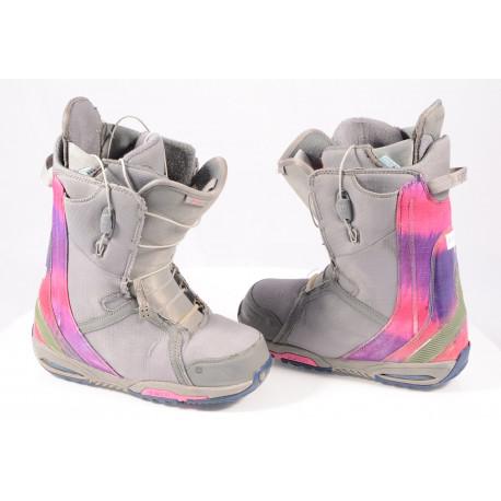 snowboardové topánky BURTON WOMENS FELIX, SZ Lacing, Imprint 3