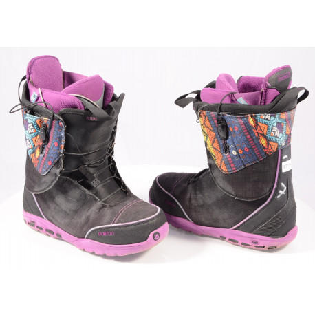 snowboardové topánky BURTON WOMENS RITUAL, SZ Lacing, Truefit, Imprint 3