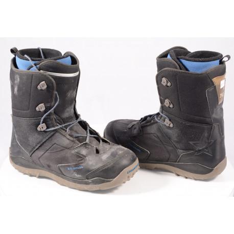 snowboard boots SALOMON KAMOOKS, THERMIC FIT, BLACK/blue