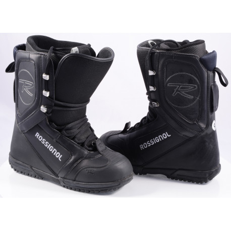 chaussures snowboard ROSSIGNOL EXCITE LACE, BLACK