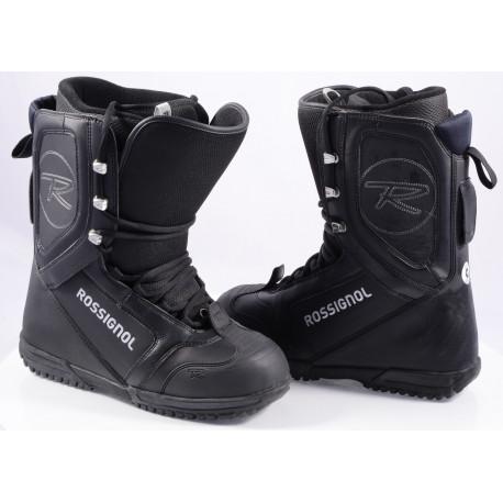 snowboardové boty ROSSIGNOL EXCITE LACE, BLACK