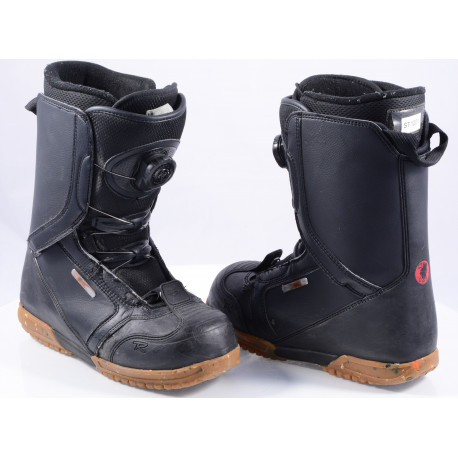 snowboard boots ROSSIGNOL EXCITE BOA system, BLACK/brown