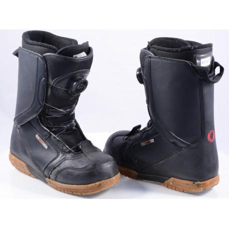 snowboardové topánky ROSSIGNOL EXCITE BOA system, BLACK/brown