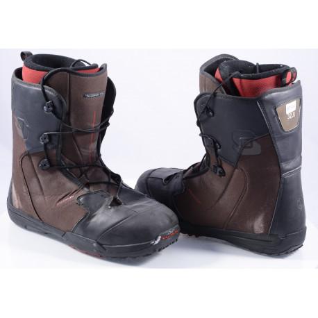snowboardové topánky SALOMON KAMOOKS, THERMIC FIT, BLACK/red