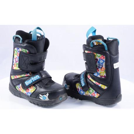 children's snowboard boots BURTON KIDS GROM ( TOP condition )