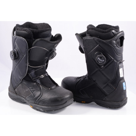chaussures snowboard K2 MAYSIS double BOA, BLACK, VIBRAM, INTUITION control foam, ENDO construction