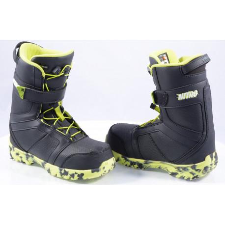 chaussures snowboard enfant/junior NITRO ROVER QLS ( en PARFAIT état )