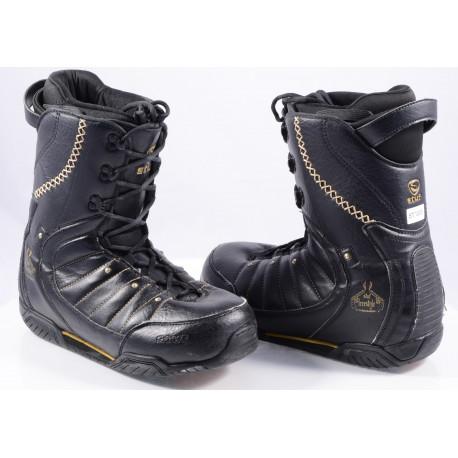 snowboardové topánky STUF FREESTYLE, BLACK ( TOP stav )