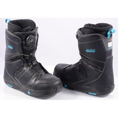 snowboard boots SALOMON FACTION BOA, BOA technology, BLACK/blue