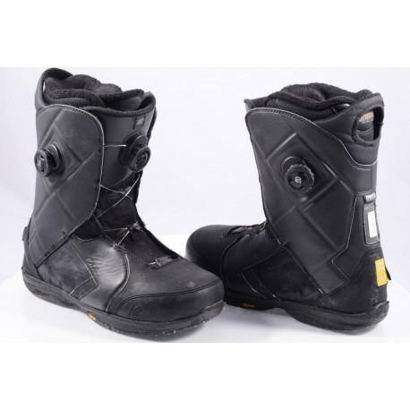 snowboardové topánky K2 MAYSIS double BOA, BLACK, VIBRAM, INTUITION control foam, ENDO construction