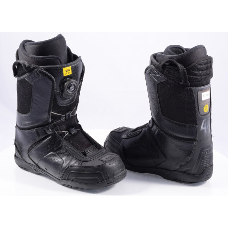 snowboard boots FLOW ANSR BOA, BOA technology, Black